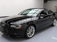 2013 Audi A5 with 2.0L Turbocharged I4 Engine,Leather