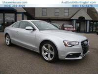 CarFax 1-Owner, LOW MILES, This 2013 Audi A5 Premium