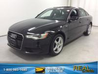 Brilliant Black 2013 Audi A6 3.0T Premium Plus quattro