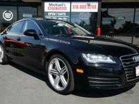 2013 Audi A7 3.0L V6 Sportback Supercharged! WE FINANCE