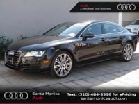 Audi Certified, 8-Speed Automatic with Tiptronic, and