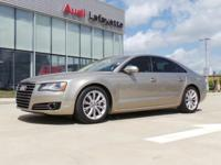 This 2013 Audi A8 3.0L is offered to you for sale by