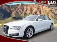 2013 Audi A8 4dr Car 3.0L Our Location is: Elk Mountain