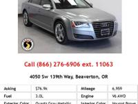 explains The 2013 Audi A8 remains a top pick among