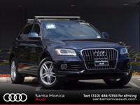 2013 Audi Q5 Moonlight Blue with Chestnut Brown