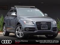 AUDI CERTIFIED! 2013 Q5 30T Monsoon Gray with Black