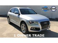 Recent Arrival! CARFAX One-Owner. 2013 Audi Q5 2.0T