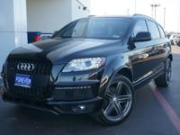 This exceptional example of a 2013 Audi Q7 3.0 T S line