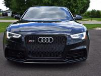 2013 Audi RS5 Blackout Edition Paddle Shift 7 Speed