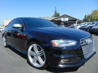 Options:  2013 Audi S4 3.0T Quattro Premium Plus Awd