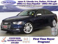 **** JUST IN FOLKS! THIS 2013 AUDI S4 HAS JUST ARRIVED