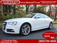 This Amazing White 2013 Audi S5 Premium Plus Quattro
