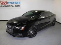 2013 Audi S5CARFAX One-Owner. Clean CARFAX. 28/18