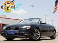 2013 Audi S5 quattro Brilliant Black 7-Speed Automatic