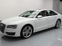 This awesome 2013 Audi S8 4x4 comes loaded with the