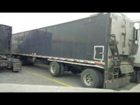 2013 Aulick Aluminum 47 foot belt trailer, with a 54""
