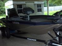 2012 Bass Tracker Boat for sale. Fully loaded and will