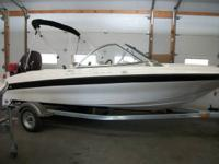 2013 Bayliner 160!  60hp Motor, lightweight design and