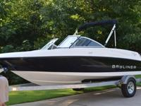2013 BAYLINER 175 BOWRIDER and galvanized Purchased
