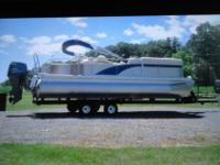 Up for sale is a 2013 Bennington Pontoon With a 2014