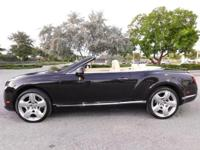 ONE OWNER 2013 Bentley Continental GTC Convertible has