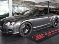 This is a Bentley, Continental GTC for sale by Euro