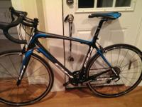 I'm offering an excellent carbon roadway bike. It is