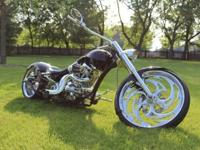 Big Bear Chopper 300 Sled Pro-street Motorcycle for