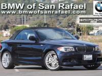 Options:  2013 Bmw 1 Series 2Dr Conv 135I|4-Wheel