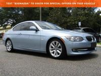 New Price! CARFAX One-Owner. Clean CARFAX.2013 BMW 3