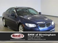 Delivers 28 Highway MPG and 18 City MPG! This BMW 3