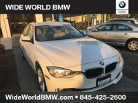 Clean CARFAX. White 2013 BMW 3 Series 328i xDrive AWD