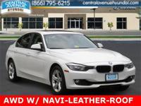 2013 BMW 3 Series White ALL WHEEL DRIVE !!!!!Recent