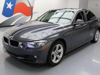 2013 BMW 3-Series with 2.0L Turbocharged I4