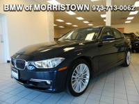 BMW Certified, LOW MILES - 43,635! EPA 33 MPG Hwy/22