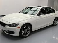 2013 BMW 3-Series with Sport Package,2.0L Turbocharged
