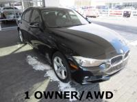 2013 BMW 3 Series 4D Sedan 328i xDrive 2.0L 4-Cylinder
