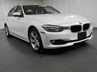 2013 BMW 3 Series Alpine White AWDCARFAX One-Owner.
