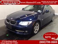 This Lovely Blue 2013 BMW 335I Convertible Comes
