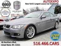 This smooth 2013 BMW 335I M Sport Convertible comes