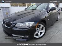 BMW Certified, ONLY 38,698 Miles! 335i trim, Jet Black