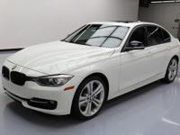 2013 BMW 3-Series with 3.0L Turbocharged I6