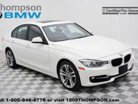You're going to love the 2013 BMW 335i! Assembled with