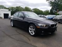 Clean CARFAX! Excellent Cond! Black 2013 BMW 3 Series