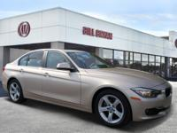 2013 BMW 3 Series 328i Champagne Clean CARFAX. Odometer