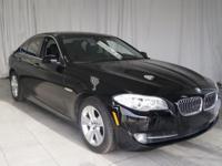 ** 2013 BMW 5 Series in Black AURORA NAPERVILLE**,