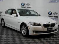 This outstanding example of a 2013 BMW 5 Series 528i