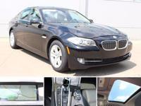 2013 Black Sapphire Metallic BMW 5 Series 528i xDrive *