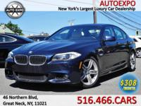 This flashy 2013 BMW 535i M Sport Package is equipped