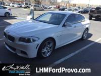 Delivers 30 Highway MPG and 21 City MPG! This BMW 5